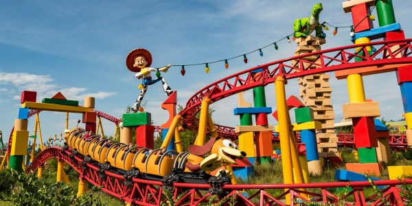 21 photos of the new Slinky Dog Dash roller coaster at Toy Story Land