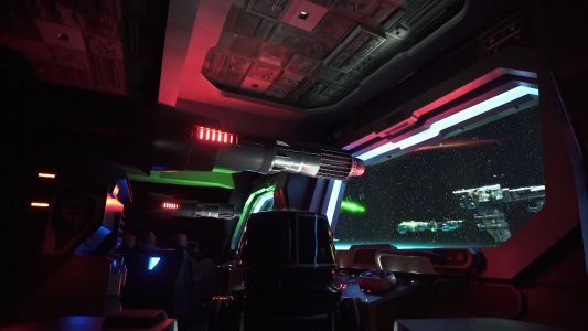FIRST LOOK: Rise of the Resistance, Disney's new Star Wars ride, opens Thursday