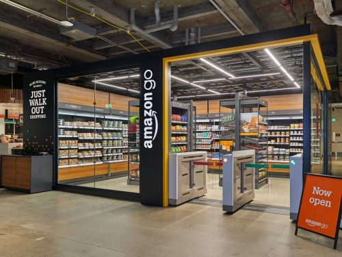 Amazon just opened its smallest cashierless store yet - and it reveals it's looking to take on everything from vending machines to Walmart