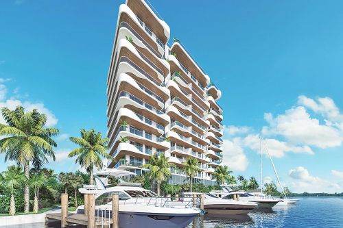 Miami condos are luring luxe buyers with private boat slips