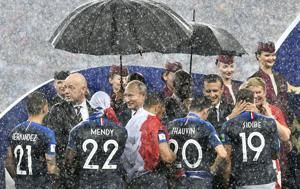 No refuge from politics but France victory a fitting climax