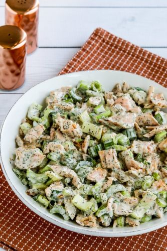 Salmon Salad with Dill