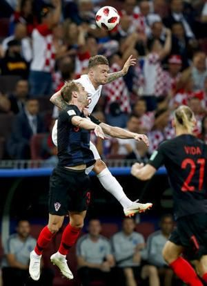 Croatia beats England 2-1, reaches World Cup final for first time