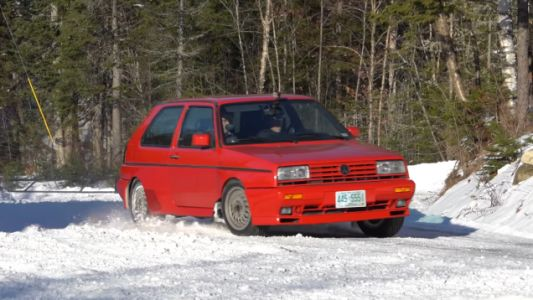 Hooning Around in a Volkswagen Rallye Golf is a Rare Treat
