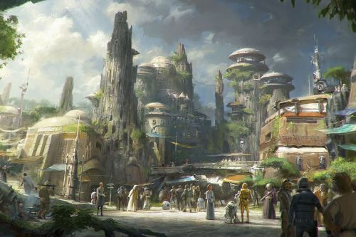 This is what Disney's epic new Star Wars land will look like