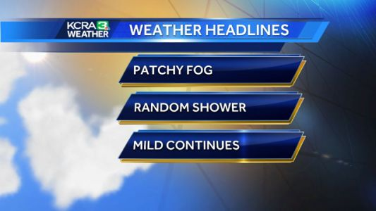 Mild weather continues with rain for the weekend