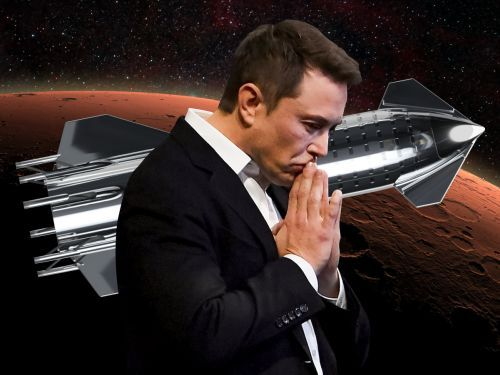 Elon Musk says he plans to send 1 million people to Mars by 2050 by launching 3 Starship rockets every day and creating 'a lot of jobs' on the red planet