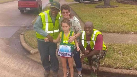 Aww! 7-year-old girl with autism who loves garbage trucks becomes honorary member of the crew