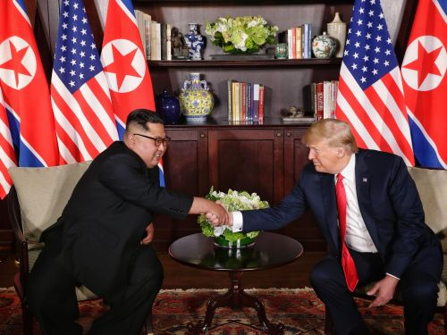Shaking hands with Trump gave Kim Jong-un the status boost he craves