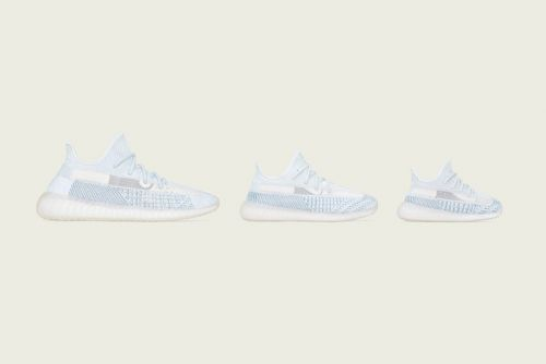 """Kanye Serves up the YEEZY 350 V2 """"Cloud White"""" for the Whole Family in This Week's Best Footwear Drops"""
