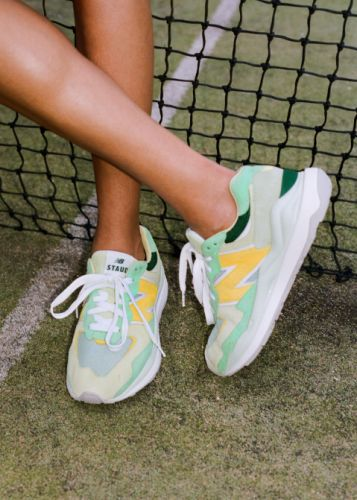 New Balance x Staud Is Here-& J. Lo Already Loves The Sneakers