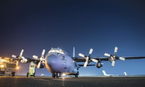 AMC C-130 rainbow fitting inspections complete
