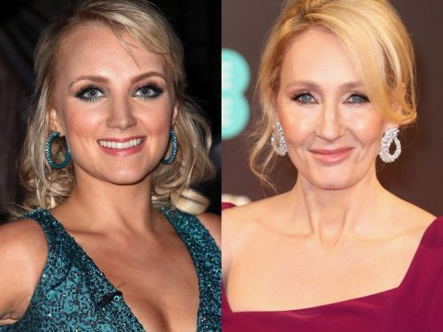 Evanna Lynch says 'Harry Potter' author JK Rowling helped her through an eating disorder at 11 - before the actress was cast as Luna Lovegood