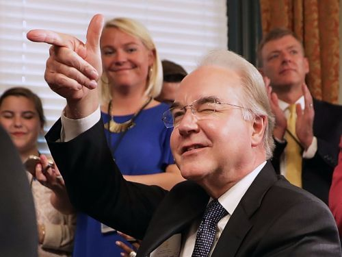 Spokesperson: Tom Price chartered private jets to make 'sure he is connected with the real American people'