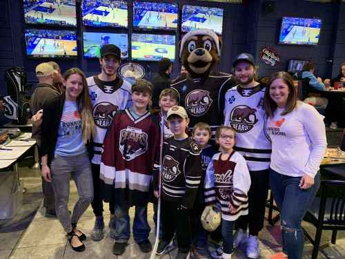Arooga's Grille House & Sports Bar and the Hershey Bears Tally Best Year yet for Duodenal and Pancreatic Cancer Research