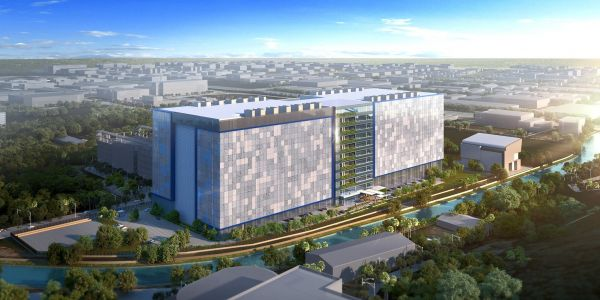 Facebook is building its first data center in Asia - take a look at the futuristic, boxy design