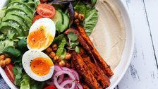 This Mediterranean Breakfast Salad Combines 2 Huge Healthy Eating Trends