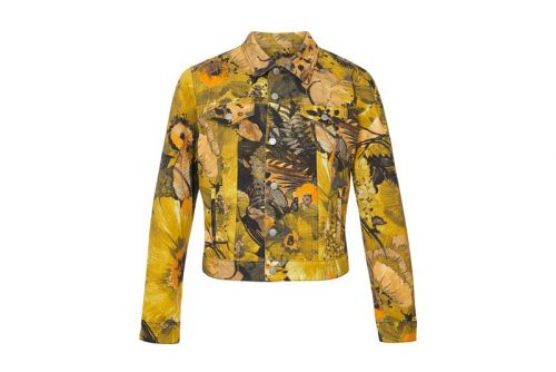 Dries Van Noten Covers Fitted Jacket in Bold Floral Design