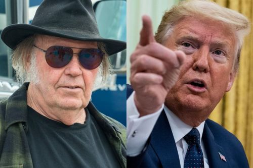 Neil Young Sues Donald Trump Over Unauthorized Use of