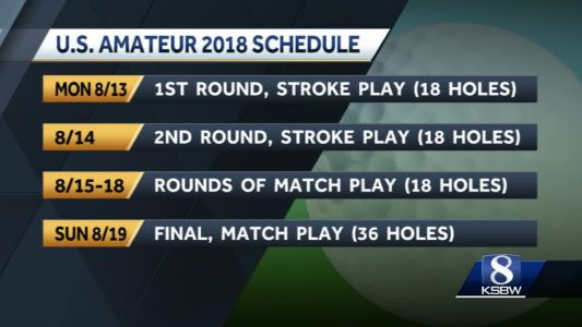 U.S. Amateur Championship is back at Pebble Beach