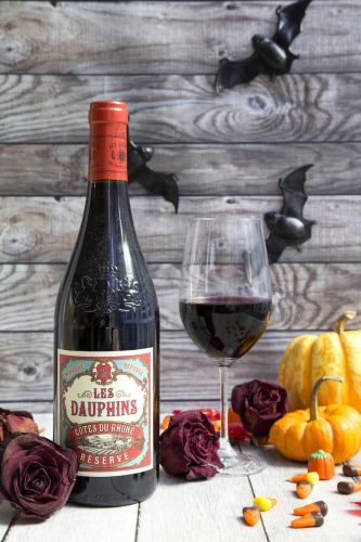 The Wine to Sip While You Wait for Trick-Or-Treaters