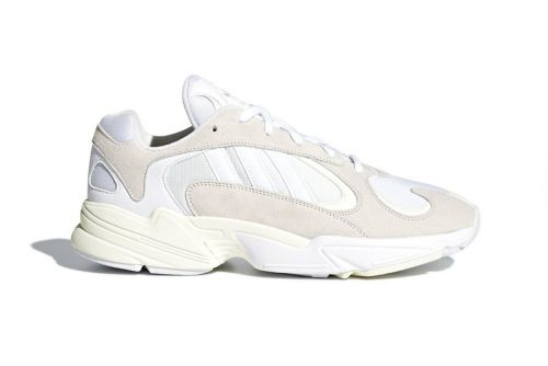 """Official Images of the adidas YUNG-1 """"Cloud White"""" Surface"""