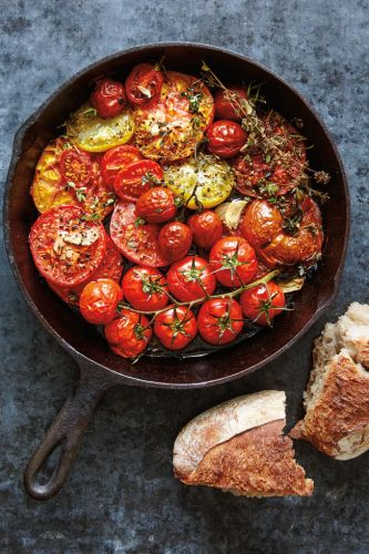 Roasted Tomatoes with Fresh Herbs