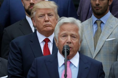 Trump says Kraft being charged in prostitution ring is 'very sad'