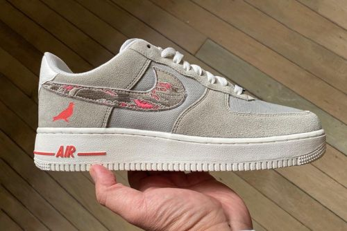 "Jeffstaple and SBTG Team up for Nike Air Force 1 ""Pigeon Fury"""