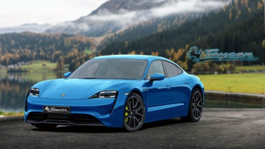 Here's What the Production Porsche Taycan Could Look Like