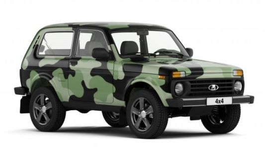 Hell Yeah The 2018 Lada 4x4 Comes In Camo