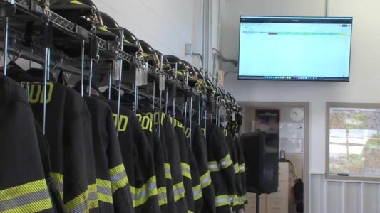 Iowa high school students design technology upgrades for fire department