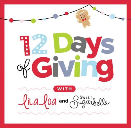 The Fifth Annual 12 Days of Giving with LilaLoa and Sweet Sugarbelle - Day 9
