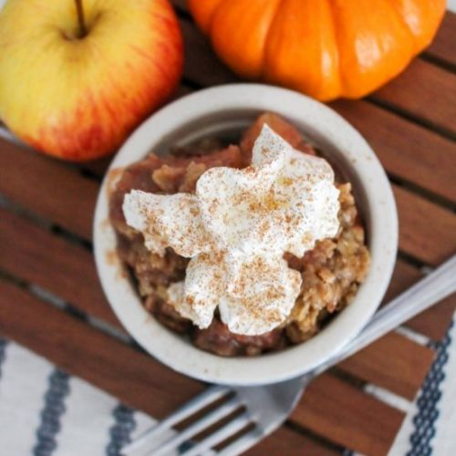 Slow Cooker Apple Pear Crisp