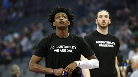 'No longer activism, just marketing': NBA mocked after list of approved 'social justice' slogans for jerseys leaked to media