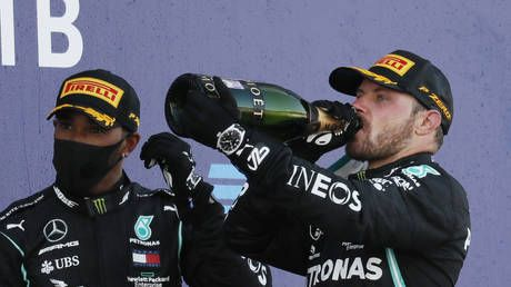 Flying Finn Bottas fires foul-mouthed tirade at 'critics' after winning Russian Grand Prix