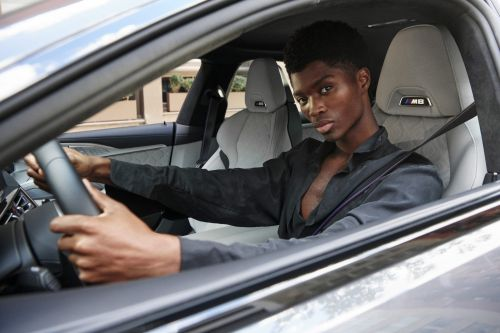 How BMW Partnered With Model Alton For NYFW