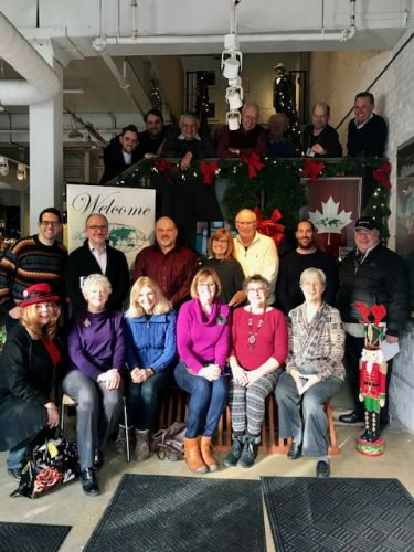 Enthusiastic Turnout in Toronoto for the Final 2018 Meeting of the Eastern Canada TCC Chapter