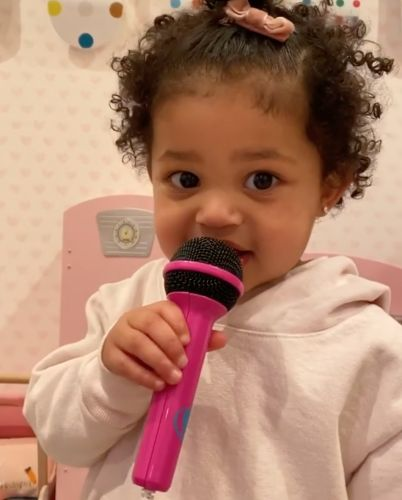 It's Her Time to 'Rise and Shine!' Stormi Webster Sings Kylie Jenner's Hit Song and It's Too Cute