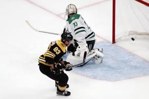 Marchand scores 2 for Bruins in 3-1 win over Stars