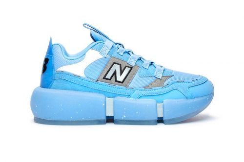 New Balance Introduces Stacked Sky-Colored Vision Racer