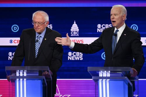 Democratic debate: Biden comes out swinging against Sanders on gun control, Obama support