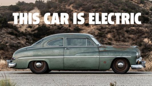 What It Takes To Give A 1949 Mercury The Heart Of A Tesla