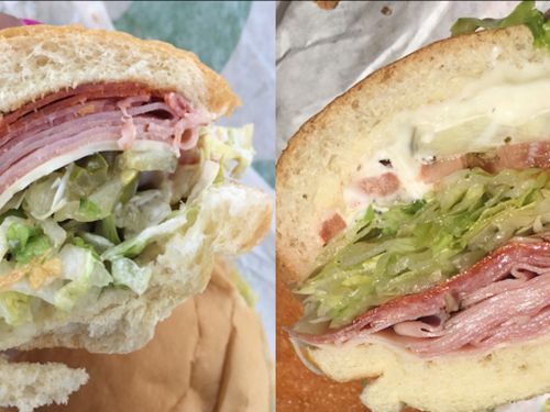We tried a sub from 4 chains - and the winner was clear