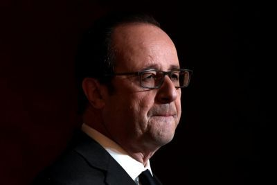 Deeply Unpopular French President Hollande Won't Run for Re-Election