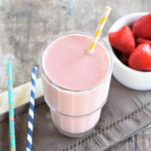 Strawberry-Banana PB Smoothie