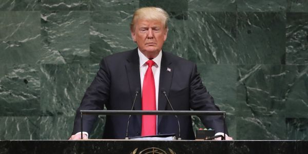 World leaders laugh as Trump claims his administration has accomplished more than any other in US history
