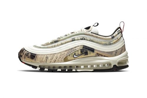 Nike Wraps the Air Max 97 in Vintage Newspaper
