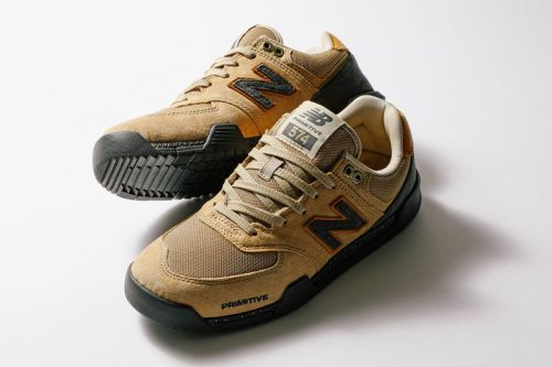 Primitive and New Balance Numeric Announce Tan-Toned 574 Collaboration