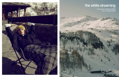 The white dreaming